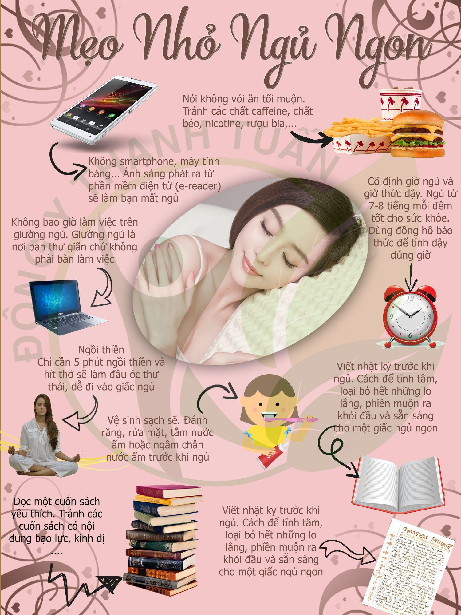 Mẹo Giúp Ngủ Ngon] Hãy thử vài phương pháp sau nếu bạn đang trong ...