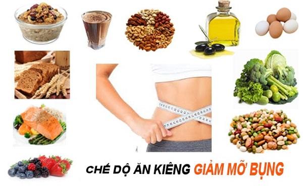 Chế độ ăn kiêng giảm mỡ bụng cho nữ cấp tốc giúp nàng có eo quyến rũ