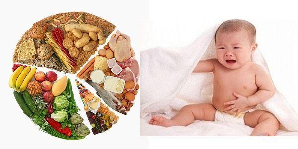 Thưc đơn hàng ngày cho trẻ bị rối loạn tiêu hóa