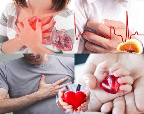 Dấu hiệu bệnh tim mạch với những loại bệnh tim ở nhiều đối tượng